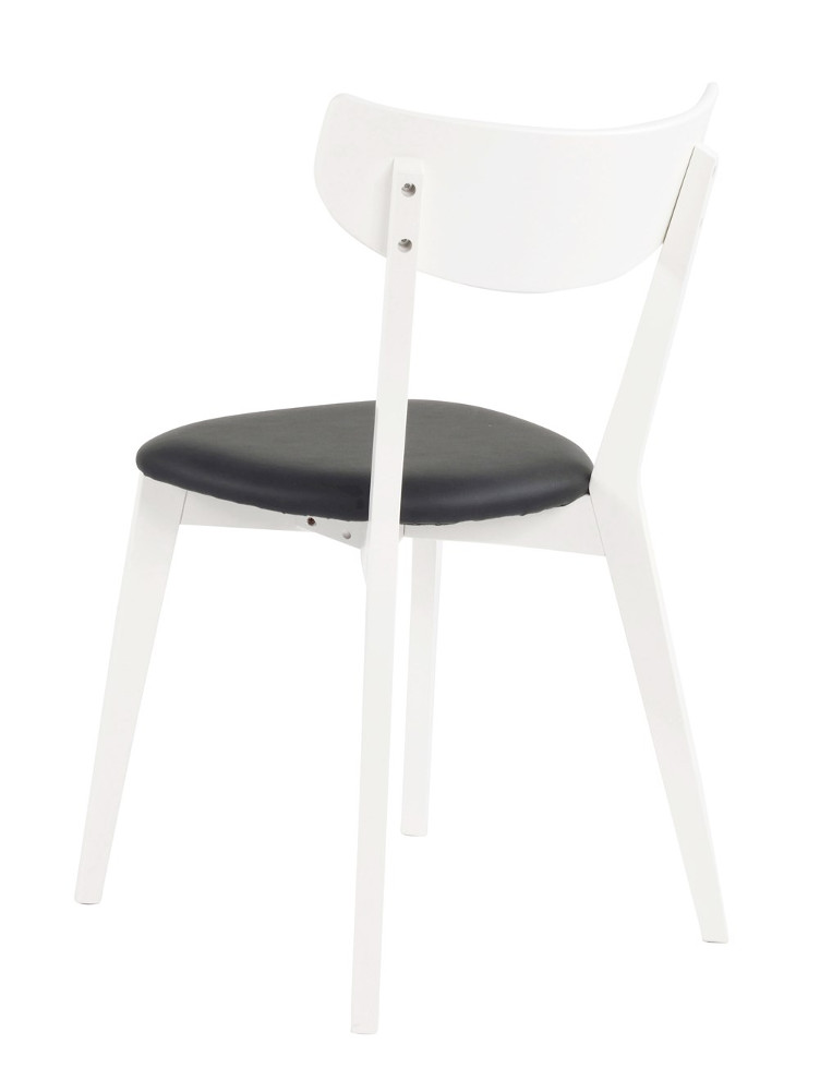 Ami tuoli valkoinen, istuin musta keinonahka  LOPPUERÄ
