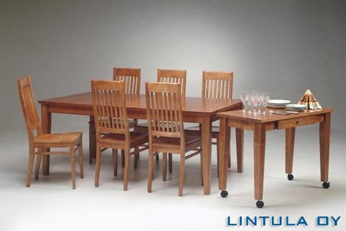 Björkman pöytä 90 x 180 cm + 6 Björkman tuolia
