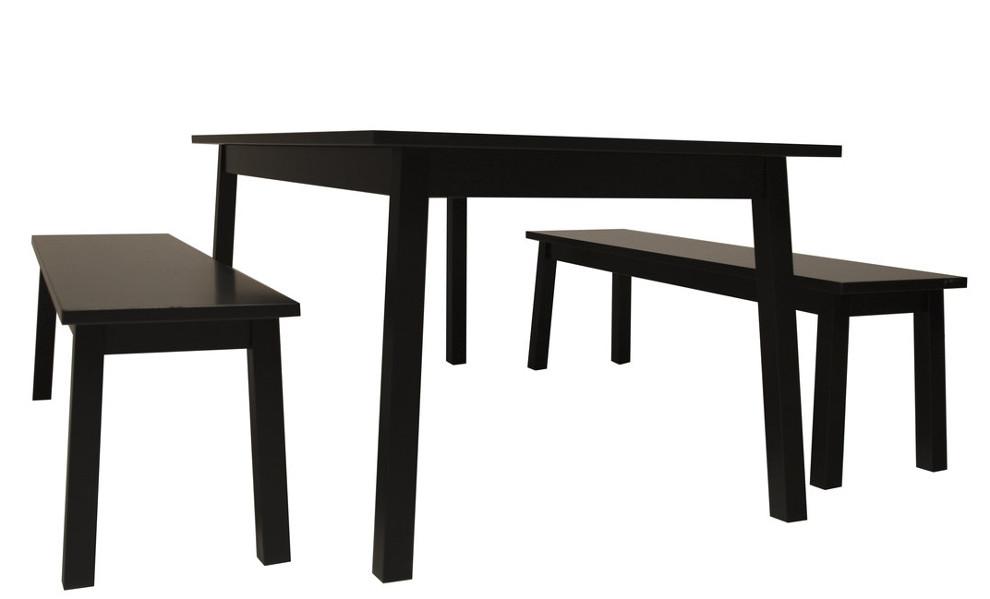 Saima ruokapöytä 180x95 musta