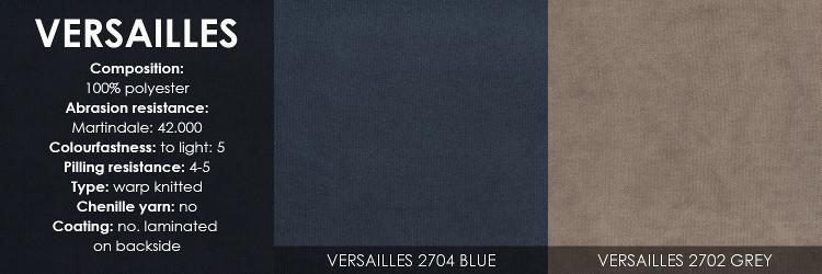 Skandia 2611 kulmasohva Versailles kangas