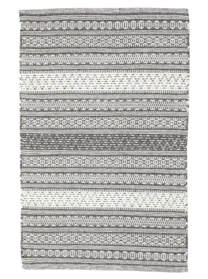 Aurora matto 160x230 d.grey/white