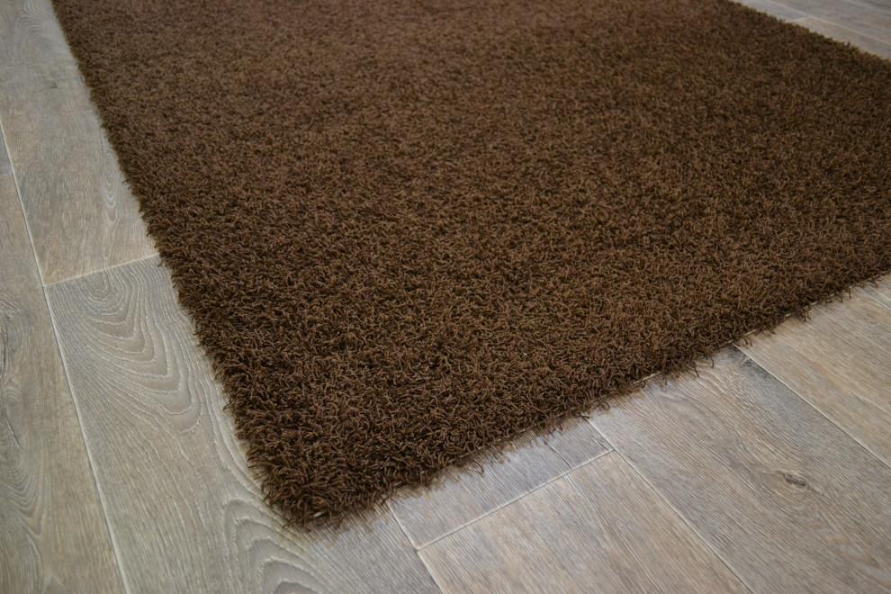 Tessa matto 133 x 200 cm, väri 732 tummanruskea