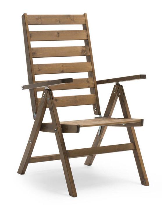 Freja tuoli ruskea