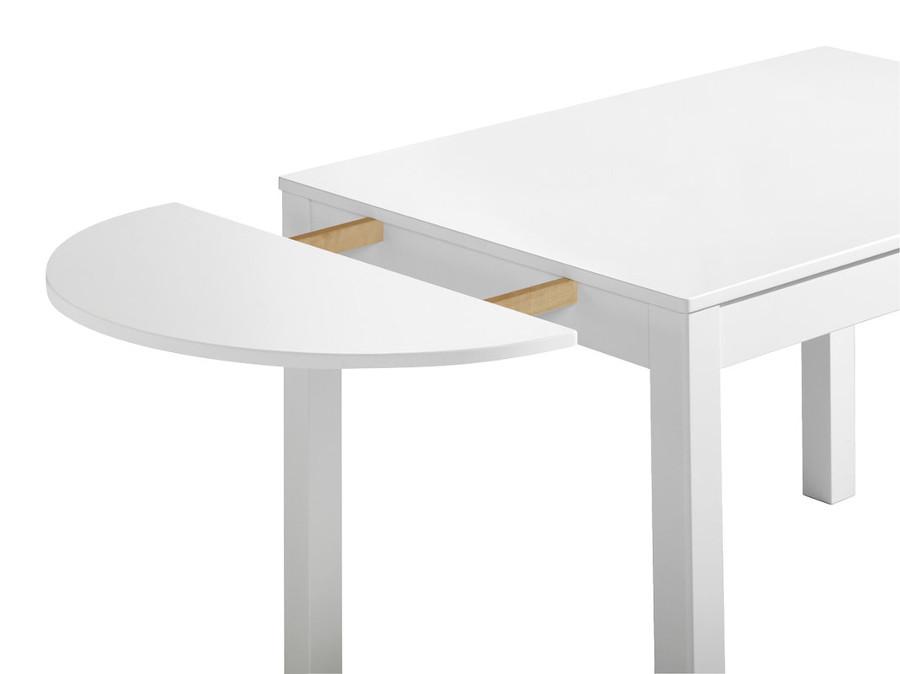 Emilia klaffi 45x80 puolipyöreä valkoinen MALLIKPL