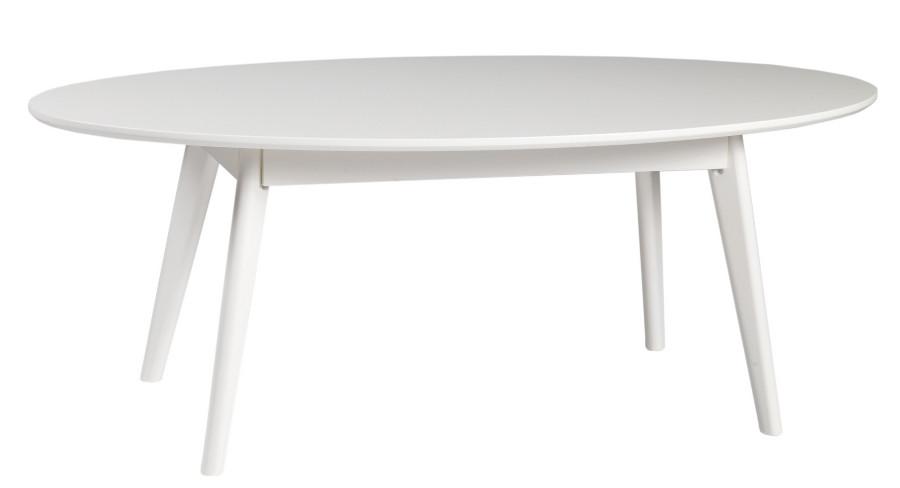 Yumi sohvapöytä ovaali, valkoinen, Rowico