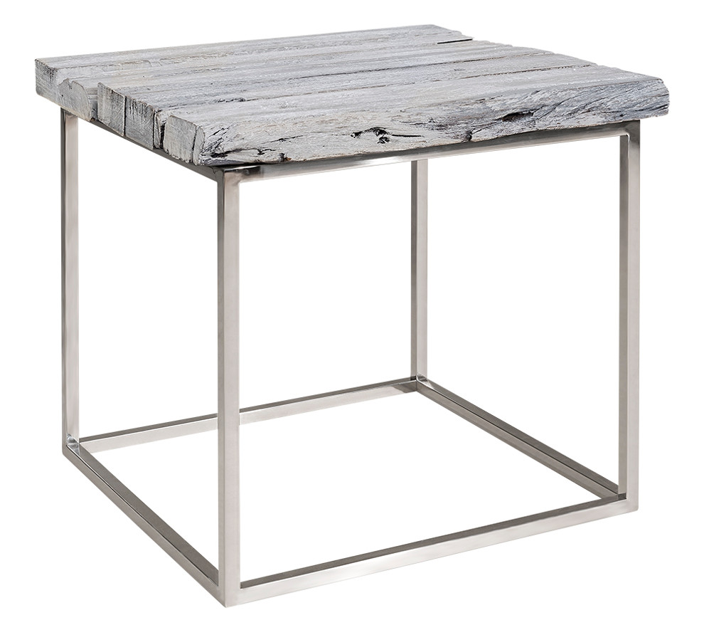 Chill sivupöytä harmaa/kiiltoteräs, Artwood MALLIKPL