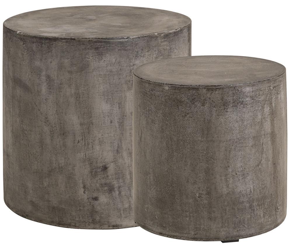 Doloma sivupöydät 2 kpl harmaa betoni, Artwood