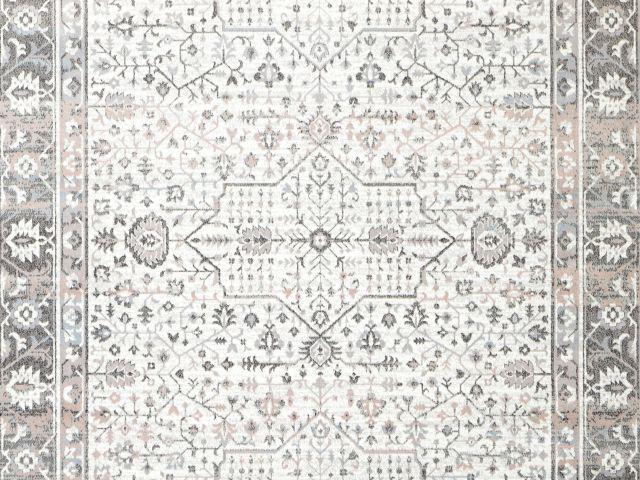 Celine matto 160 x 230 cm valkoinen/roosa