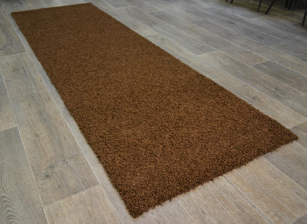 Nurmi matto 80 x 250 cm ruskea