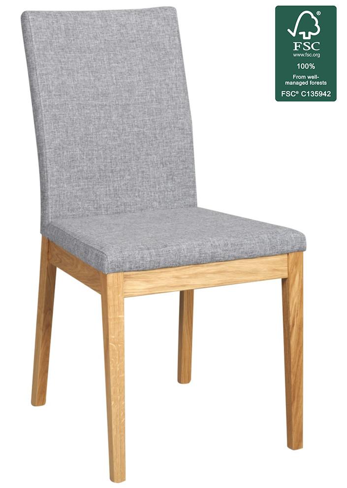 Narvik tuoli harmaa/tammi , Rowico