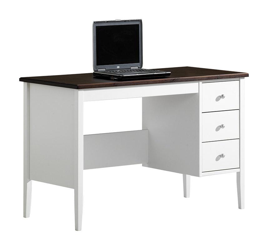Sara kirjoituspöytä 115 valkoinen/ruskea