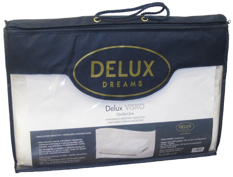 Delux Memory/Visco tyyny 50x33cm