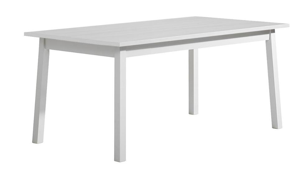 Sara ruokapöytä 140x85 valkoinen