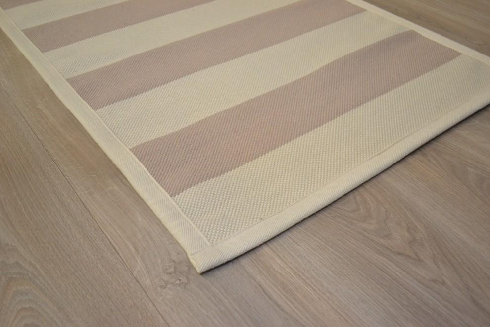 Lokki matto 77x200cm beige/valkoinen, Matto-Luoma