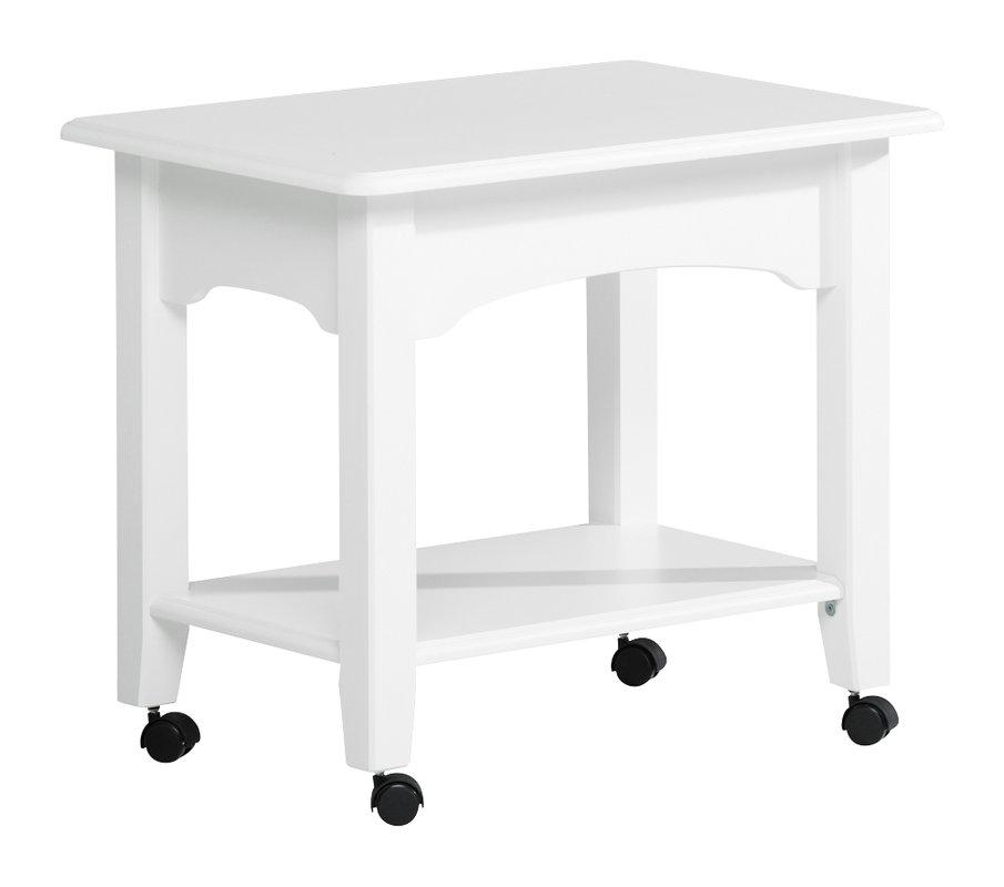 Viktoria tarjoilupöytä valkoinen