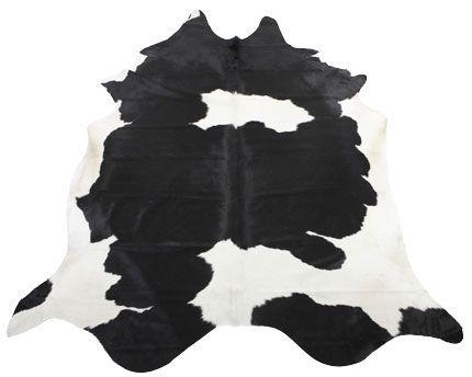 Lehmäntalja Clara musta/valkoinen 3-4 m²