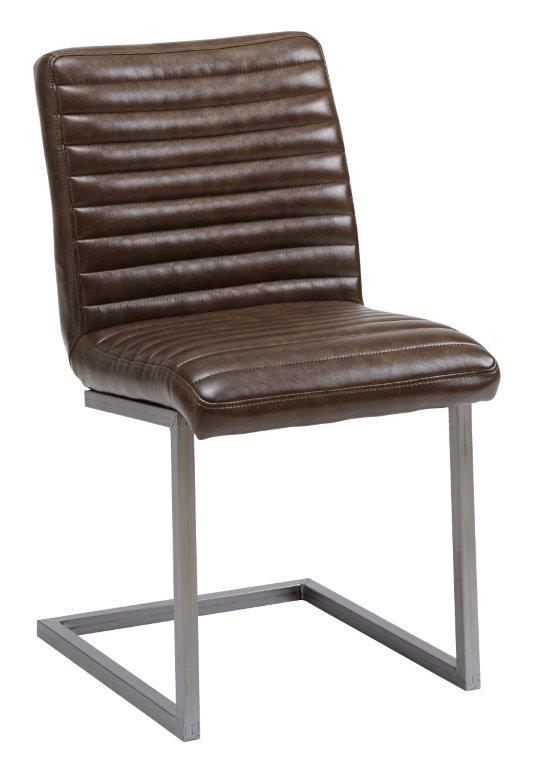 Bernilla tuoli PU ruskea
