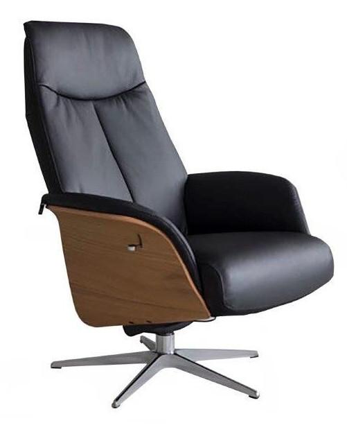 Hjort Knudsen TV-tuoli 5239 L-koko D-jalka Madras/kn