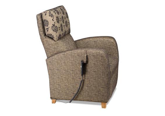 Tessa recliner tuoli moottorilla kangas Vincent/Dali