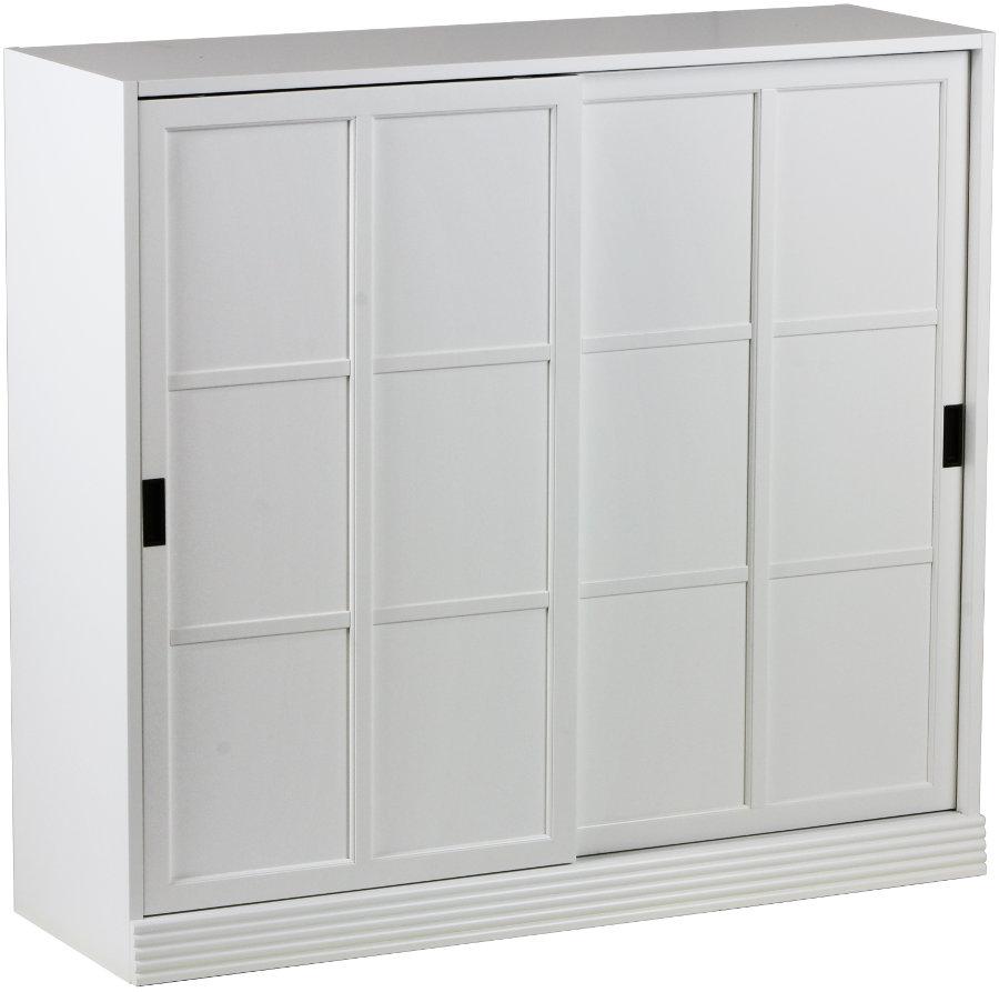 Gustav kirjakaappi 120 umpiovilla valkoinen