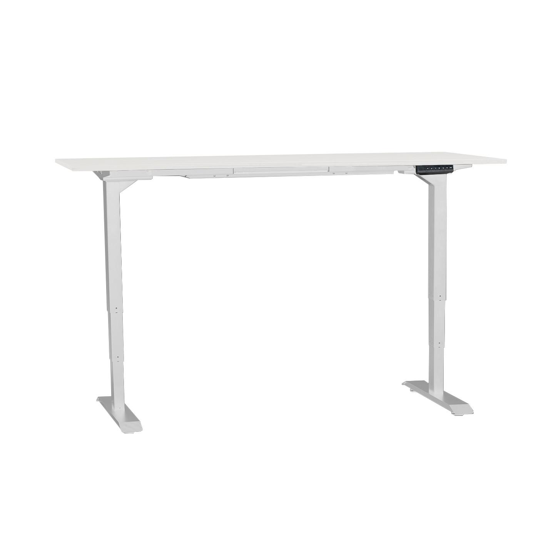 Ergo sähköpöytä 160 x 80 cm valkoinen