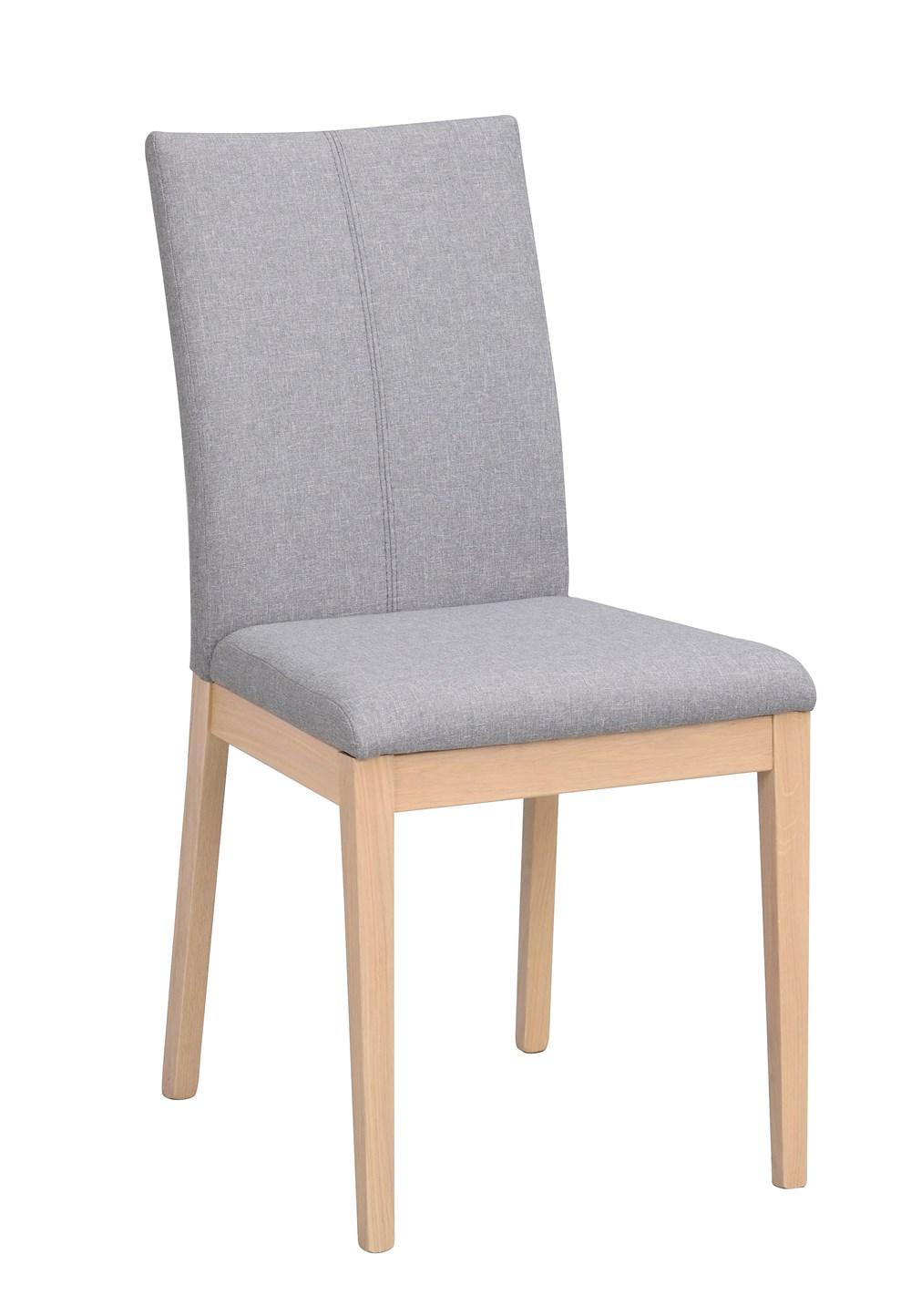 Amanda tuoli vaaleanharmaa/valkopesty tammi, Rowico