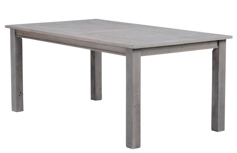 Driftwood 01 ruokapöytä 180 x 100 cm harmaa