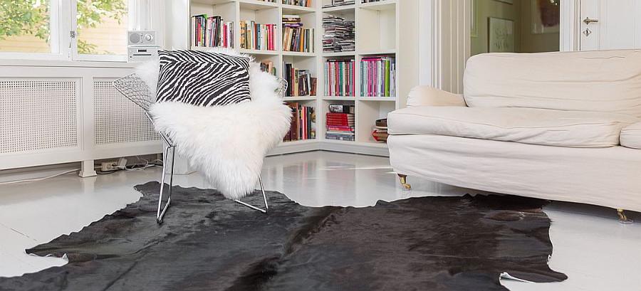 Lampaantalja XL 105 cm luonnonvalkoinen