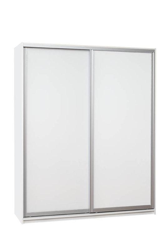 Iida 180 komero valkoisilla lasiovilla, Hiipakka