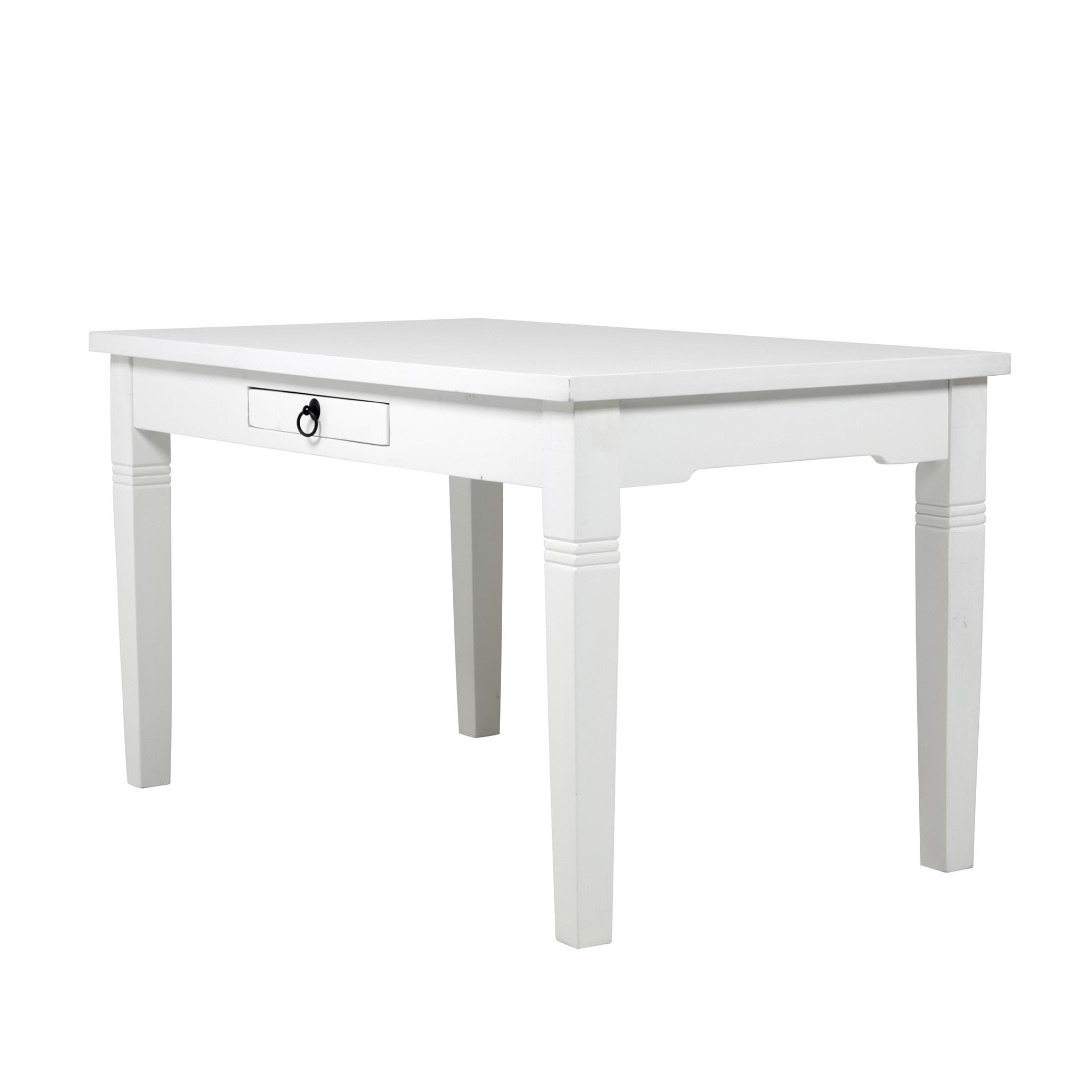 Madrid pöytä 135x80 cm valkoinen