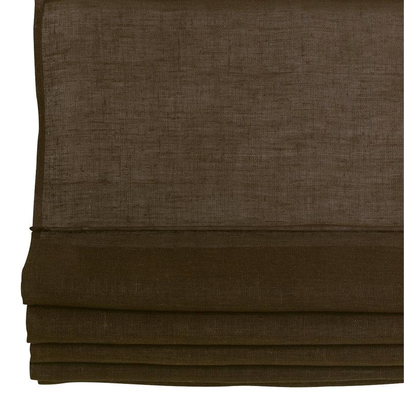 Laskosverho 80x170 ruskea pellava