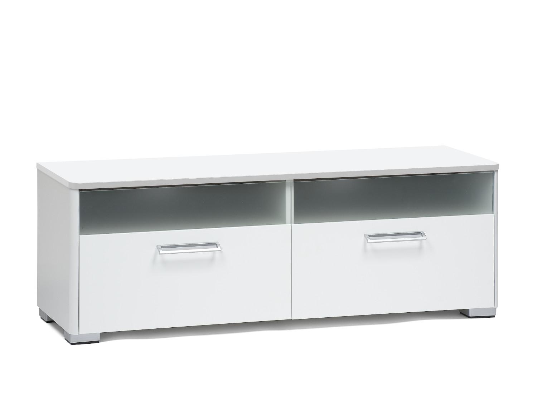 Helmi nro 04 TV-taso 120 cm valkoinen