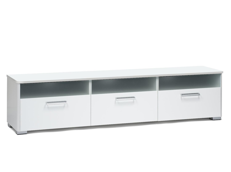 Helmi nro 06 TV-taso 180 cm valkoinen
