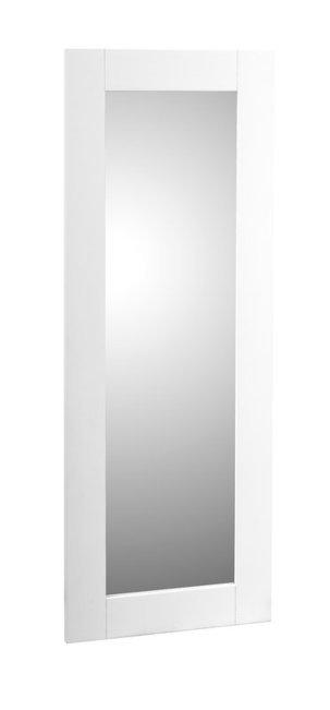 Rustiikki peili 128 x 49 valkoinen