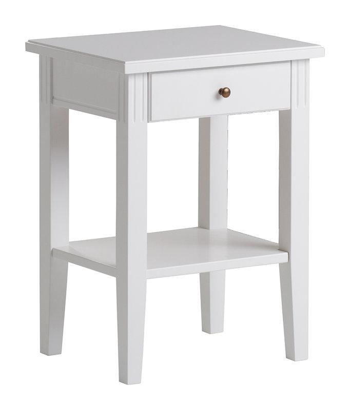 Ida yöpöytä 45 valkoinen