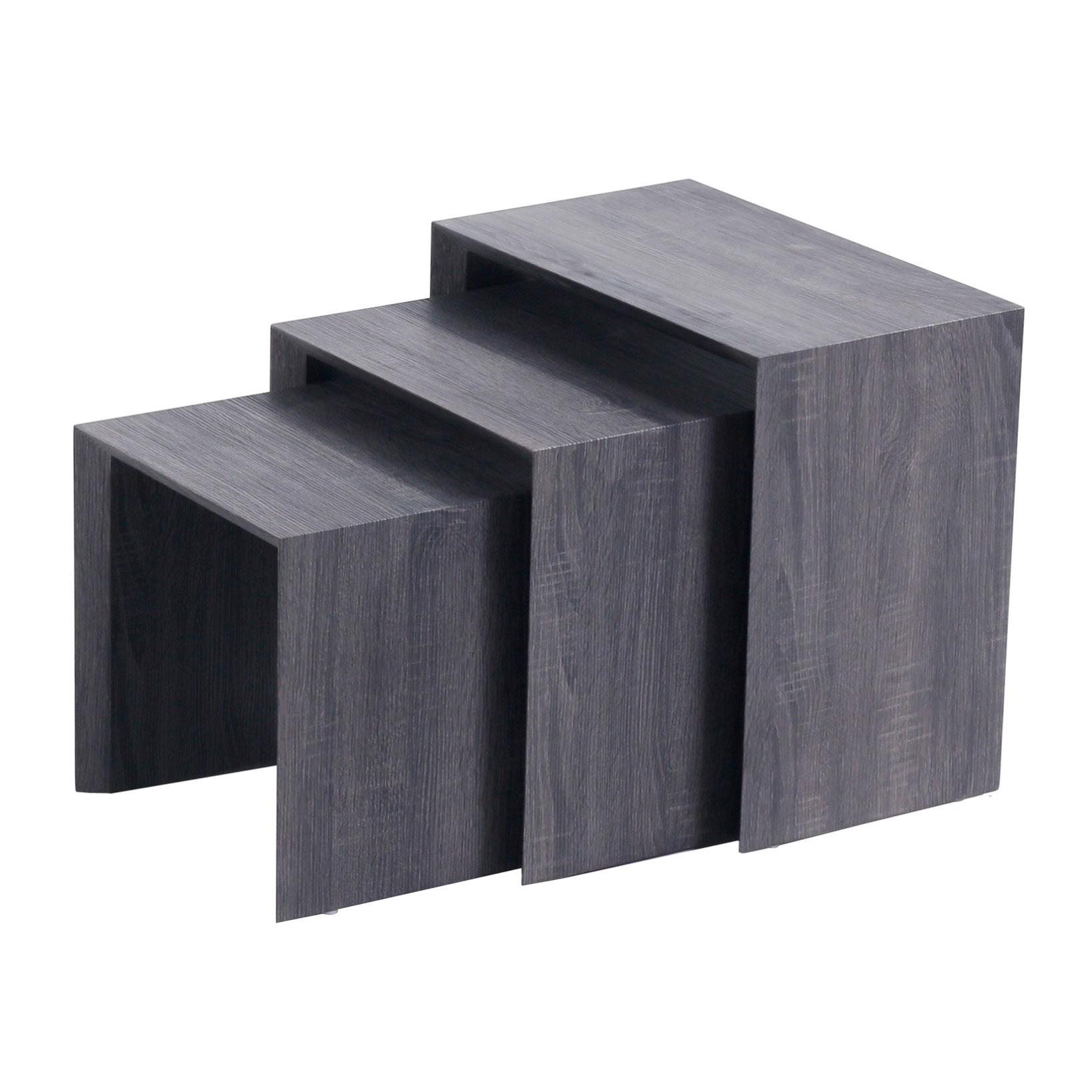 Näpsä 3 sarjapöytä harmaa, Tenstar