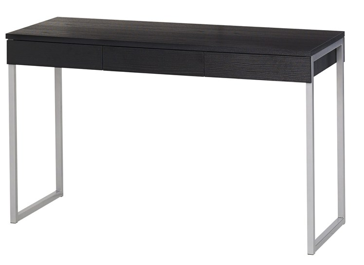 80106 Function Plus työpöytä 3-laatikkoa musta