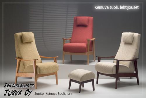 Jupiter tuoli, Alisa, Barcelona tai Sakura kangas