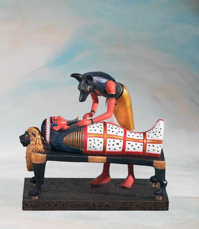 Egyptiläiset, Anubis - Faaraon palsamointi