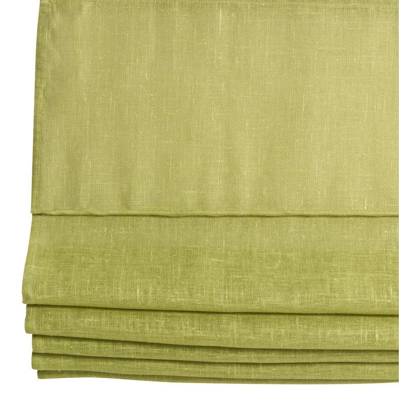 Laskosverho 100x170 vihreä pellava