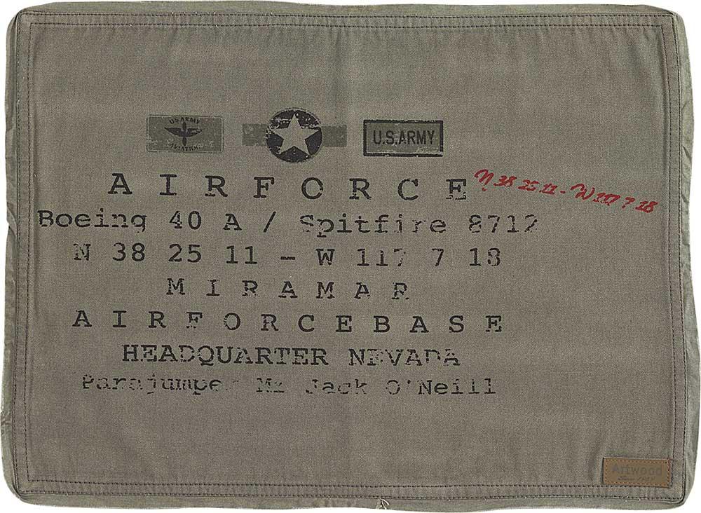 Army tabletti 4 kpl setti 48x37cm vihreä