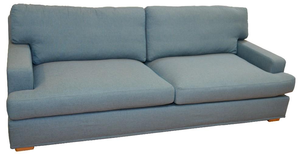Hugo 2,5 sohva irtoverhoilulla, kangas Stark 509