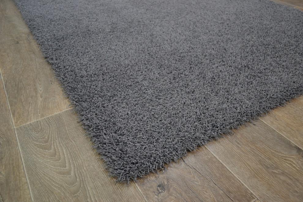 Tessa matto 133 x 200 cm, väri 820 tummanharmaa