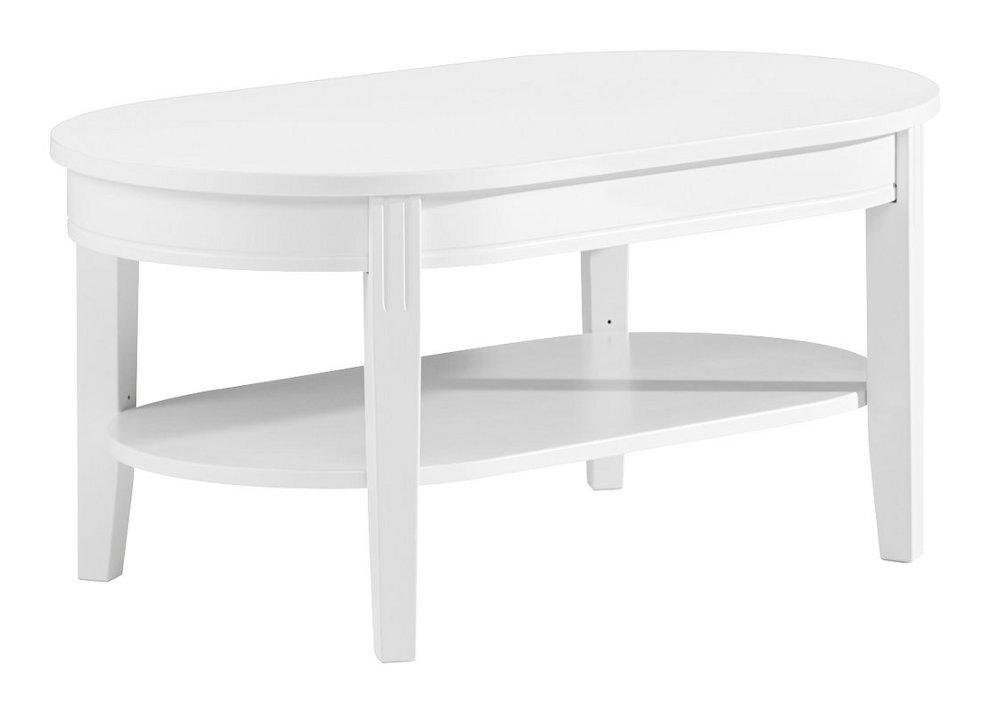 Ida sohvapöytä 110x65 ovaali valkoinen