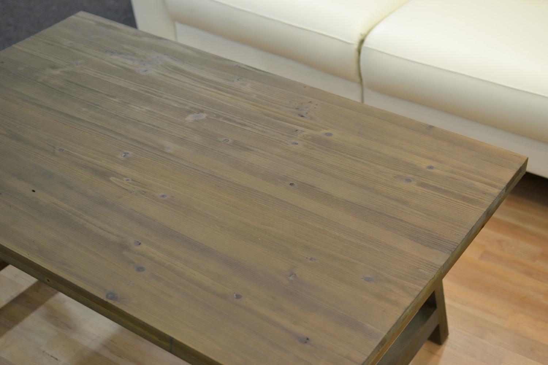 Aspen sohvapöytä 120 x 75 antiikinharmaa massiivipuu, Rowico