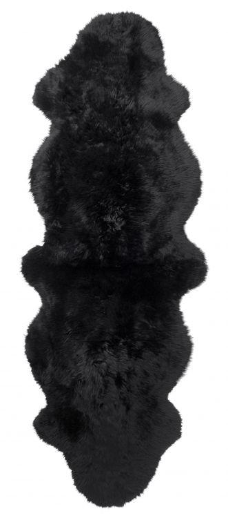 Gently 2-set lammastalja 180x60 cm musta, Skinnwille