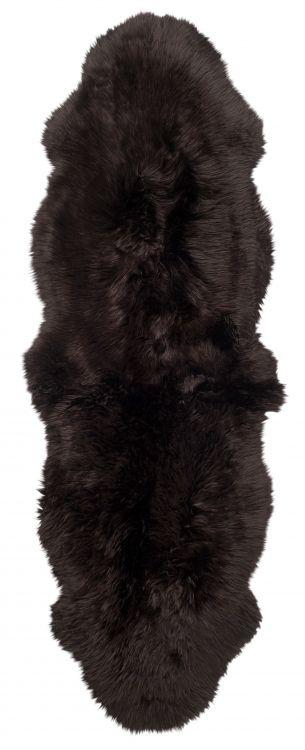 Gently 2-set lammastalja 180x60 cm tumman ruskea