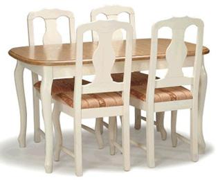 Parooni pöytä 90x132cm + 4 tuolia
