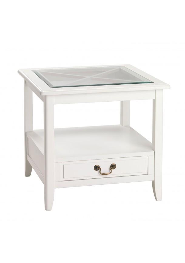 Camilla sivupöytä valkoinen, Rowico