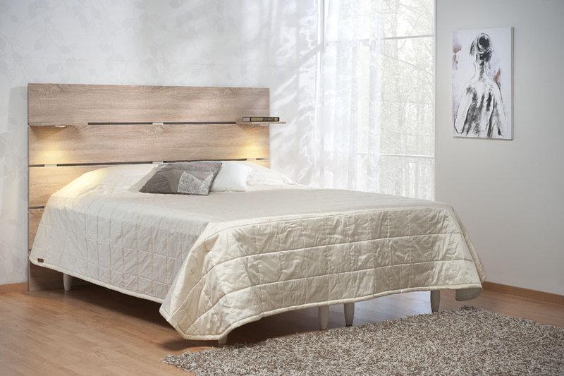 Black sängynpääty 185 cm